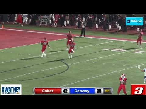 Top 10 plays in Week 7 of Arkansas high school football
