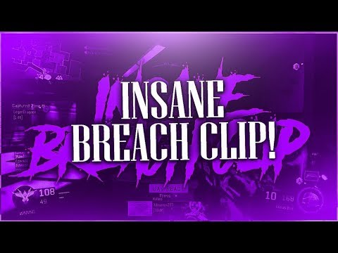 Insane Breach Clip!!! (Bo3 Highlights) Back From Vacation