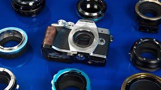 Zapętlaj Pro Lens Adapters for Micro 4/3 Cameras   Fotodiox Inc