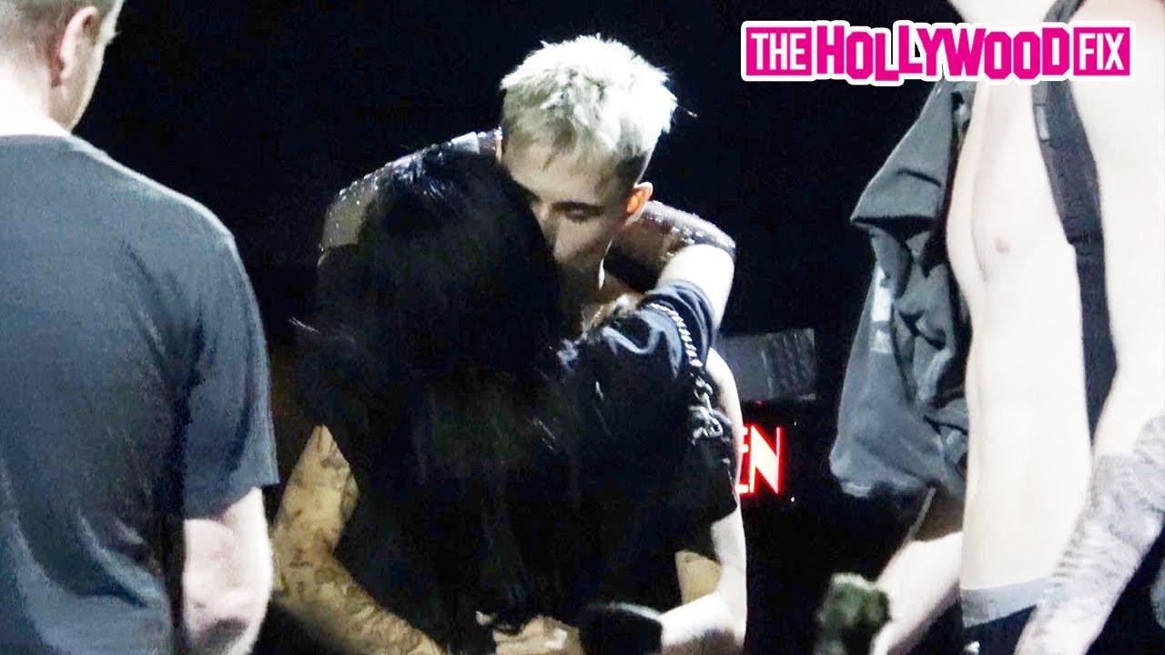 Jaden Hossler & Nessa Barrett Are Caught Making Out Backstage & Speak On Their Relationship At Roxy