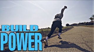 Developing Power with Resistance Run + Power Snatch Video