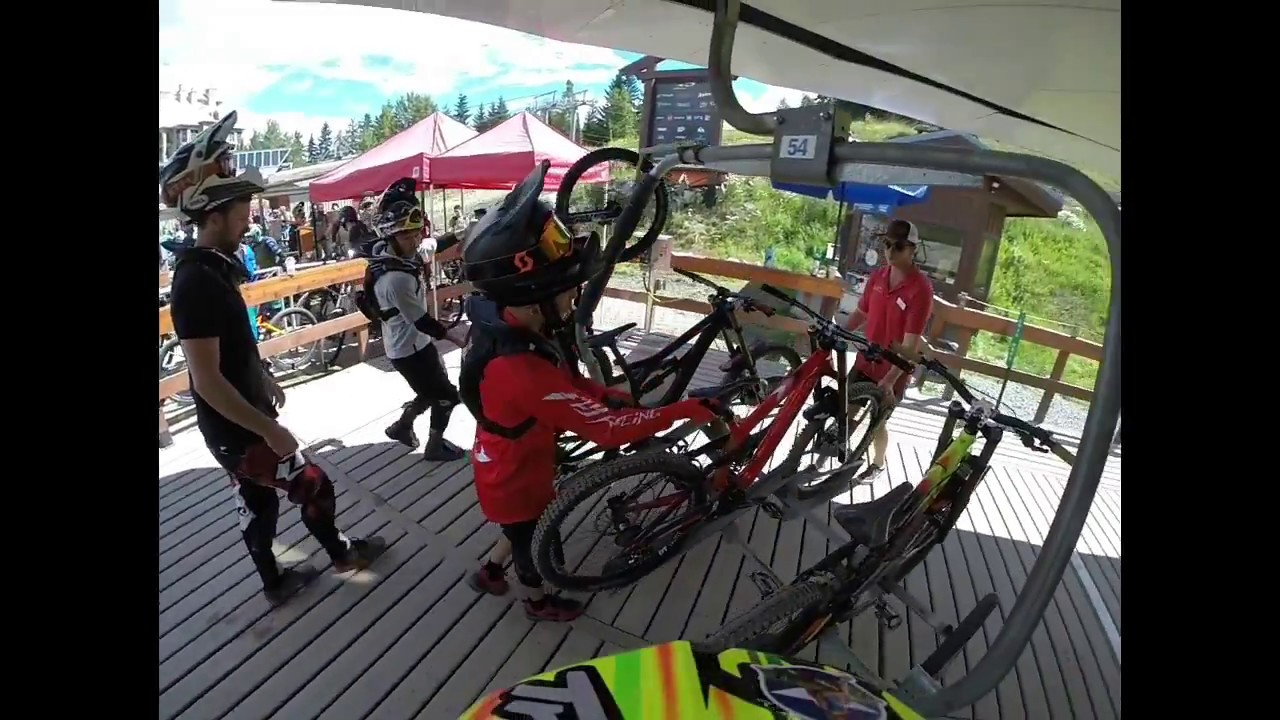 Chair Bike Fitzsimmons Chair Lift Whistler Bike Park 2017