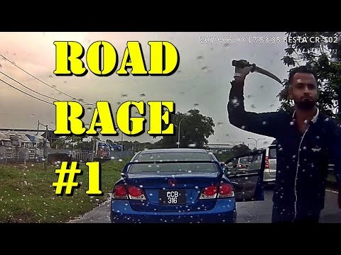 Best ROAD RAGE Videos Compilation #1 || Dealing With Aggressive Drivers