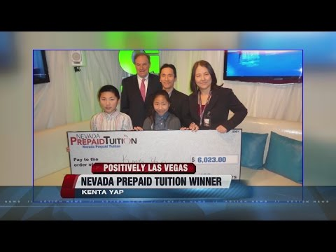 POSITIVELYLV: College tuition winner
