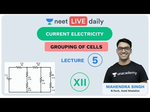 Current Electricity - Lecture 5 | Unacademy NEET | LIVE DAILY | NEET Physics | Mahendra Sir
