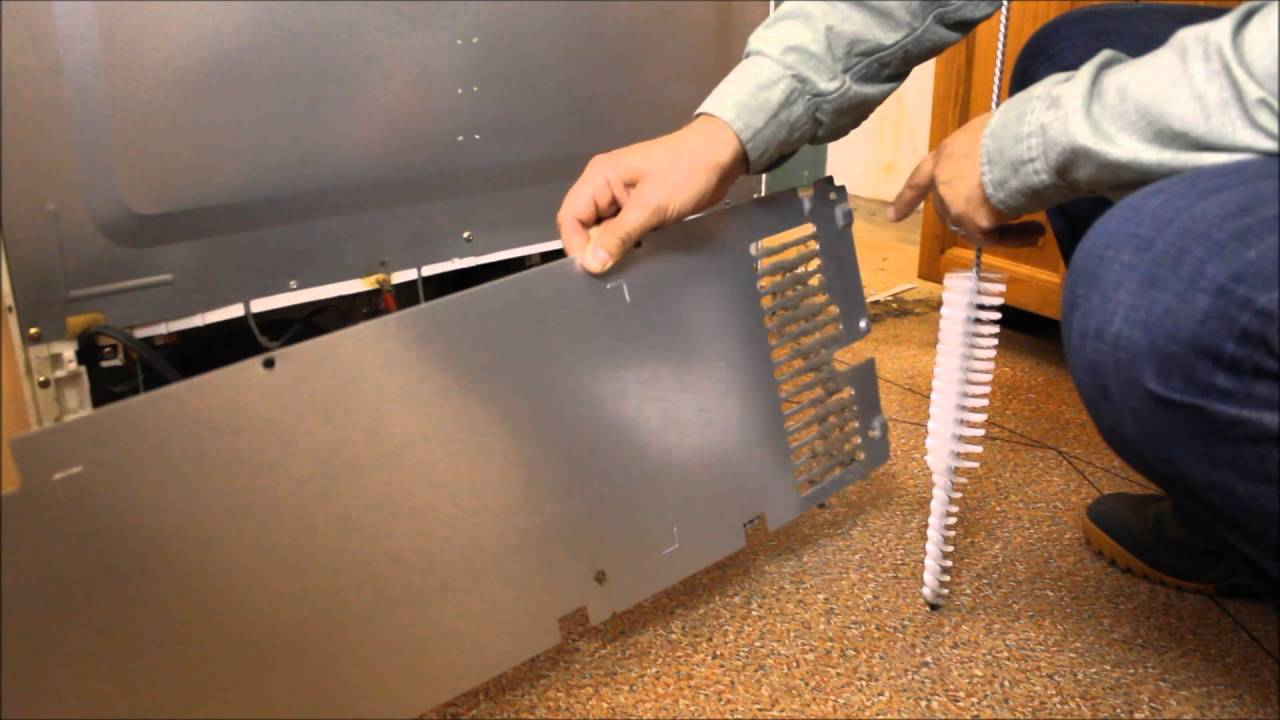 cleaning your refrigerator coils