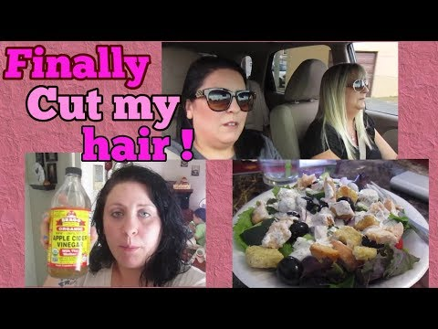 Finally cut my hair!! | Trying to get healthy | Surgery day