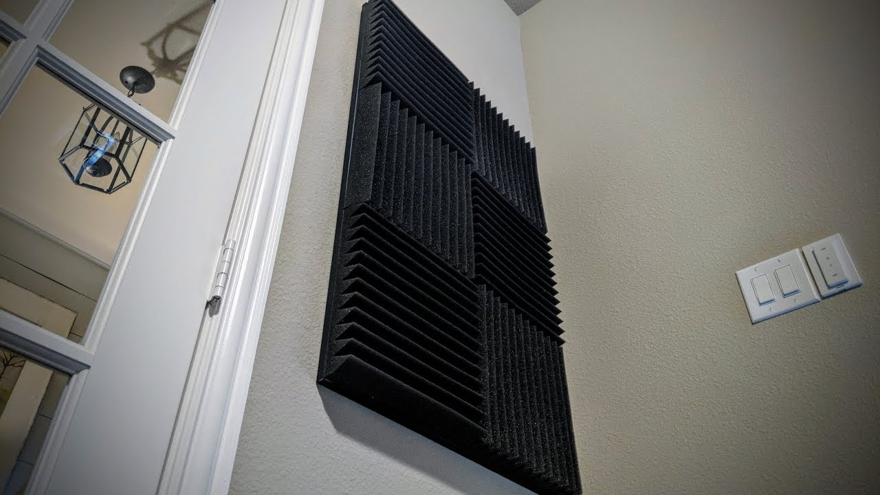 DIY Acoustic Sound Panels Without Tools