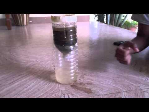 water filtration science project Water filtration experiment purpose: the purpose of this weeks experiment will be to see if it is possible to filter salt water, to make drinkable water, using filters created from objects.