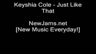 Keyshia Cole - Just Like That (NEW 2010)