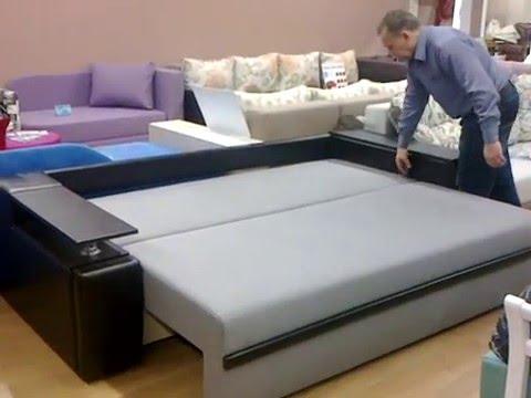 У нас вы сможете недорого купить диван еврокнижку с ортопедическим матрасом от производителя с доставкой по москве и московской области. В сложенном виде диван-кровать еврокнижка выглядит компактно и изящно, постельное белье легко убирается в специальную систему хранения. Механизм.