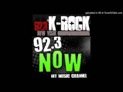 WXRK New York - 92.3 K-Rock format change to 92.3 Now - 3/11/09