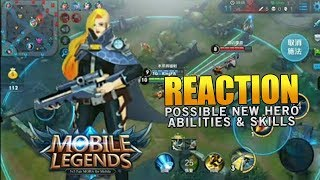 Video NEW Hero Sniper Gameplay Similar To Upcoming ML Hero REACTION! Mobile Legends download MP3, 3GP, MP4, WEBM, AVI, FLV November 2017