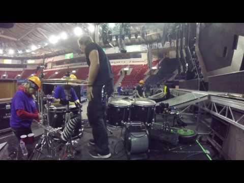 Drum Kit Tour Rig Breakdown