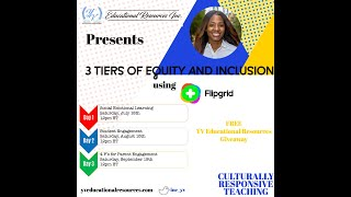 3 Tiers to Equity and Inclusion: Student Engagement