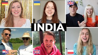 What Do EUROPEAN YOUTUBERS Think About INDIA? Ft. @Babe, where's my passport? @Dabble and Travel