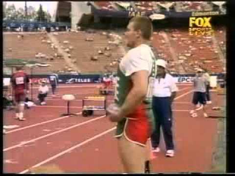 2001 IAAF World Championships Mens shot put Final