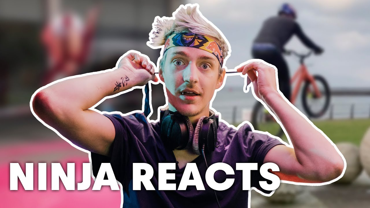 Pro Battle Royale Player & Streamer Ninja Reacts To Top Red Bull Videos