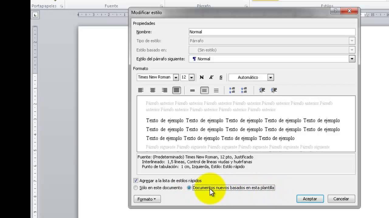 Plantilla de Word con las normas APA UPEL - YouTube