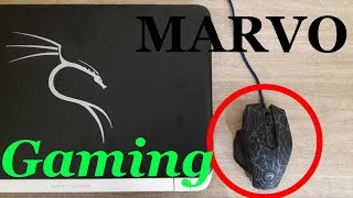 Gaming Mouse (MARVO M306) Within 500 rs Unboxing & Overview