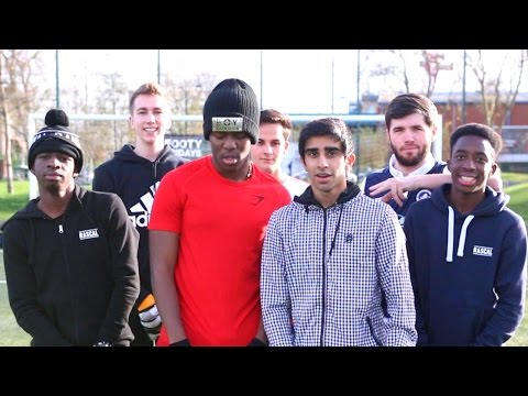 SIDEMEN THREE LEGGED PENALTY CHALLENGE