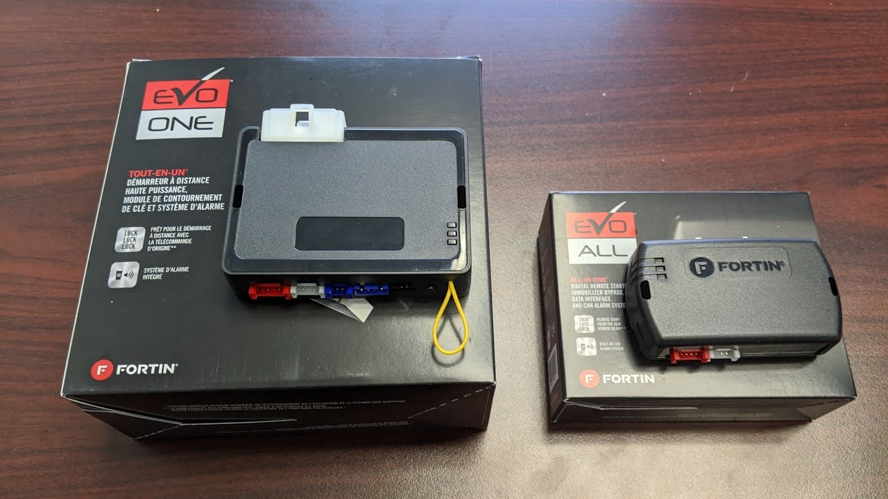 Fortin All-In-One Remote Starter Security System and Data Interface EVO-ONE