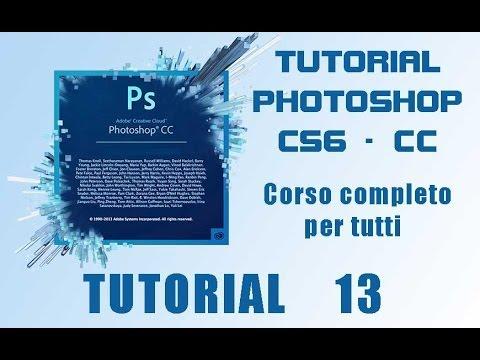 Photoshop: Corso Base. Tutorial 13 - Strumenti Selezione Rapida