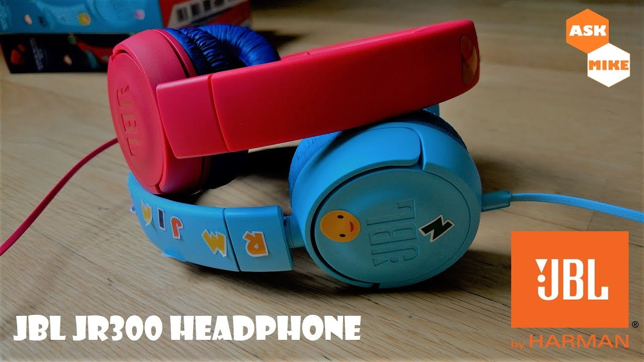 Jbl Jr300 Headphone For Your Kids Or Children Youtube