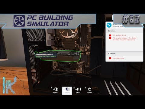Let's Play PC Building Simulator - E2: Always Double Check Before You Buy Parts :/