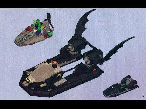 Lego 7780 Batman Hunt For Killer Croc Batboat Instruction Manual