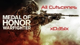 Medal of Honor Warfighter | All Cutscenes | 1080p | xD3S1x