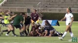 Hawaii Women's Soccer Highlights & Reaction vs. Sacramento State 8-25-16