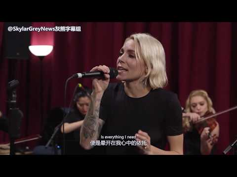 【灰熊字幕组】Skylar Grey Everything I Need Live in DC Daily海王 中英字幕