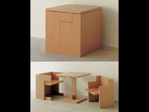 Transforming Space Saving Furniture