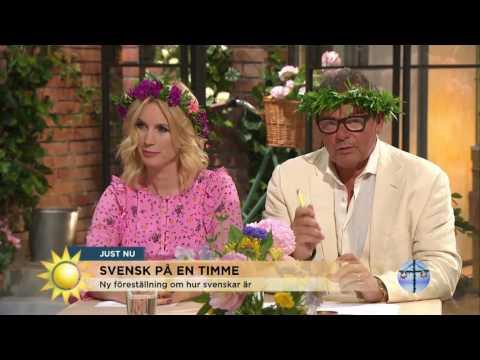 Så blir du svensk på 60 minuter - enligt nya föreställningen - Nyhetsmorgon (TV4)