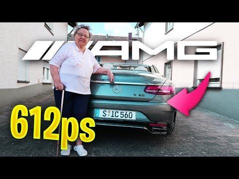 Meine OMA reagiert auf 612PS Mercedes AMG 😱