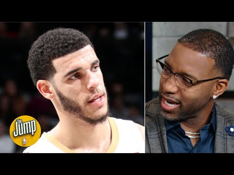 Tracy McGrady explains Lonzo Ball's weird stumble: It's cramps in the calves! | The Jump