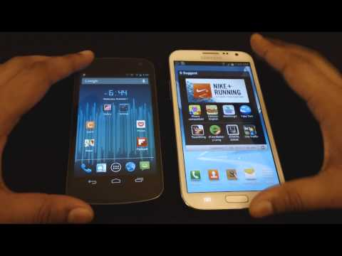 TouchWiz UI VS Stock Android UI