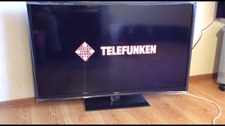 TELEFUNKEN TF-LED 50S7T2 МИНИ ОБЗОР ТЕЛЕВИЗОРА
