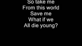 Repeat youtube video Rise against - Worth dying for (lyrics)