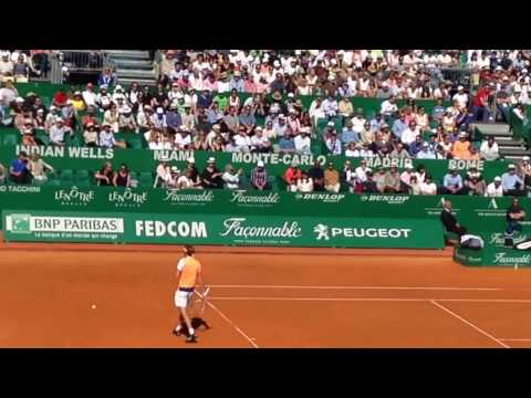 Alexander Zverev vs Rafael Nadal 2017 Monte Carlo Rolex Masters (video only Alex))