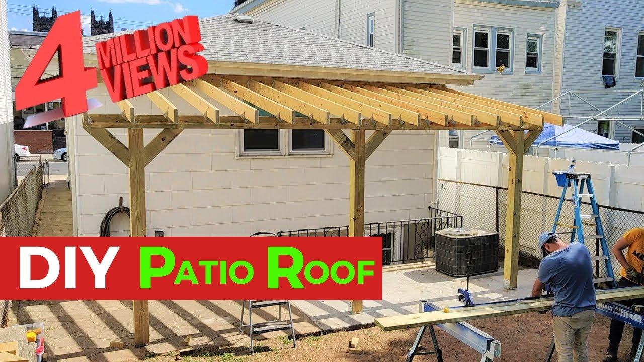 diy patio roof handybros