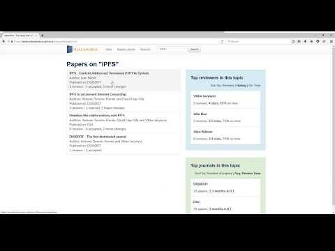 Alexandria user interface prototype