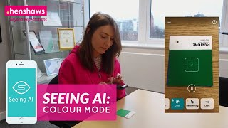Seeing AI - Colour Mode