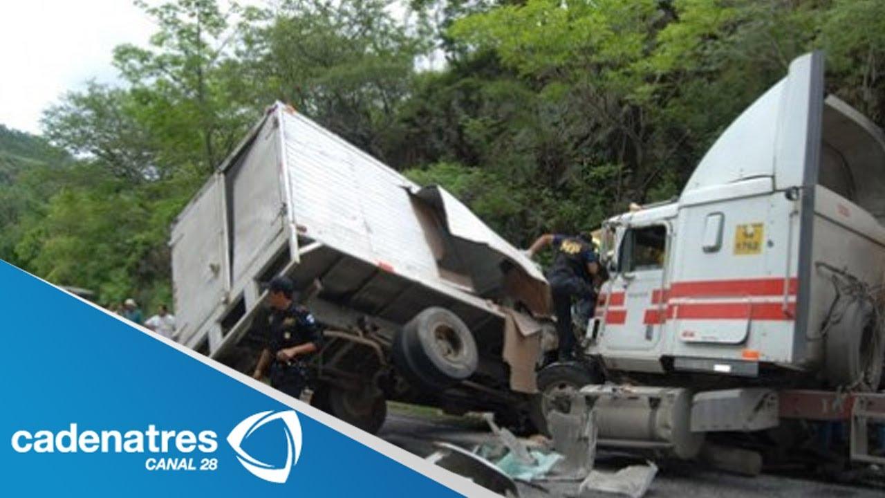 Matrimonio Accidente Trailer : Impresionante accidente carretero entre trailer y camión