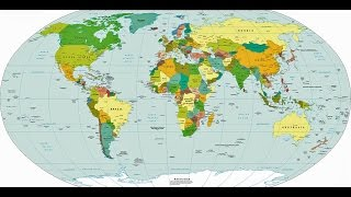 Total countries in the World? Map of all the countries