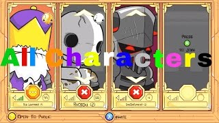Castle Crashers Remastered All Characters