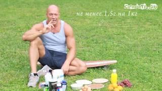 Правильное питание для набора сухой мышечной массы