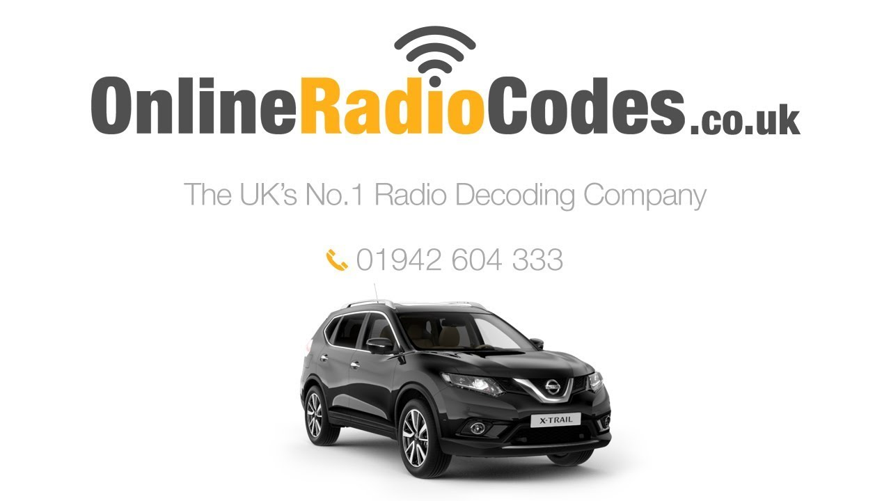 Nissan X Trial Radio Code Unlock Your Nissan Stereo Within