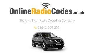 Ніссан Х Тріал Радіо Код Розблокування Nissan Стерео Протягом Декількох Хвилин
